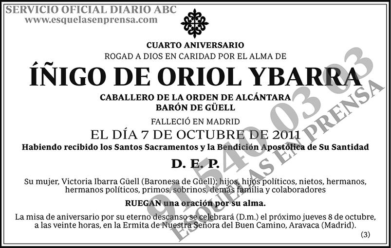 Íñigo de Oriol Ybarra